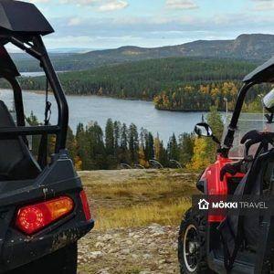 Twee quads in Oulanka