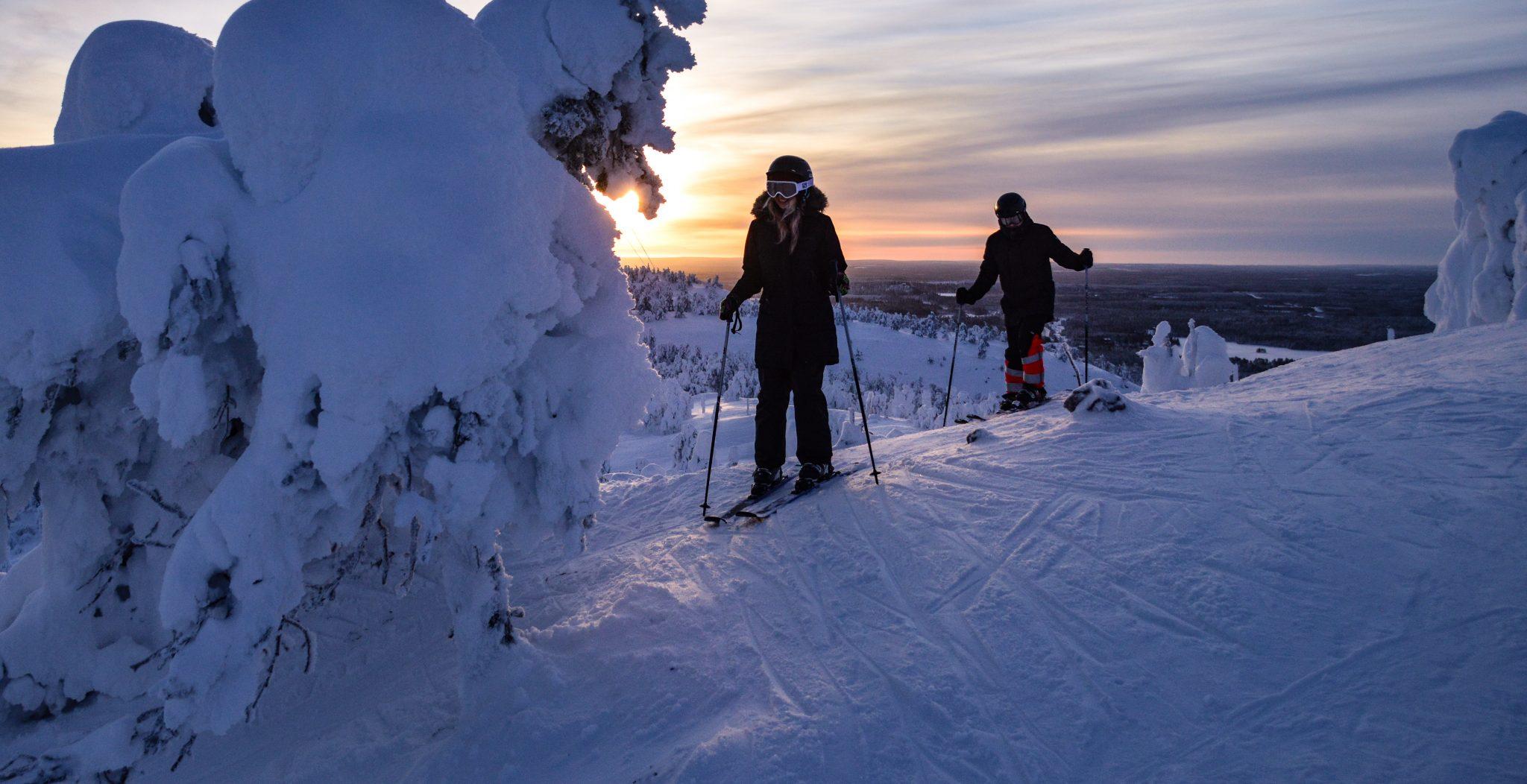 Skiën in Ruka