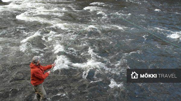 riviervissen in ruka kuusamo